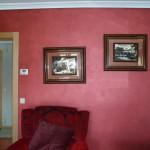 Alberto decoración, pintura efecto terciopelo